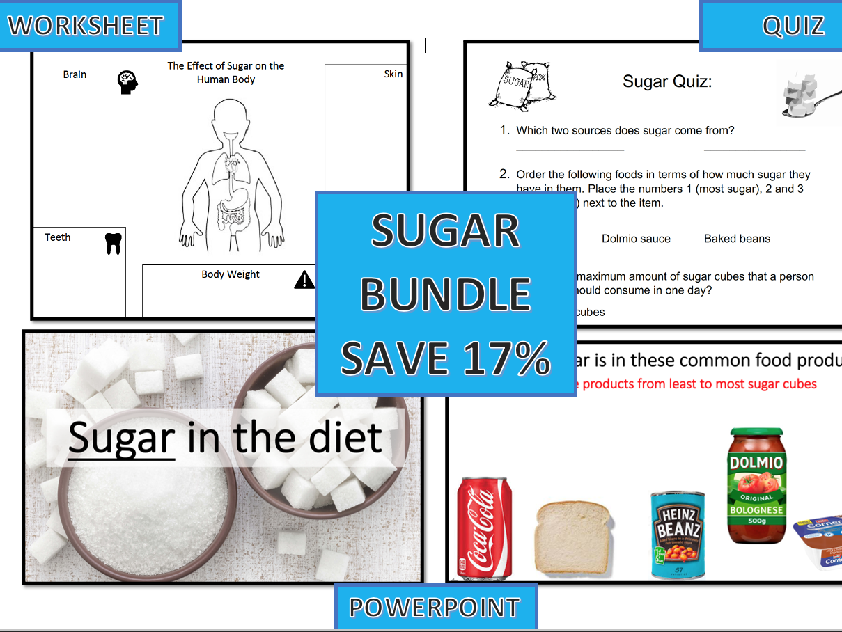 KS3 Sugar Lesson (all resources)