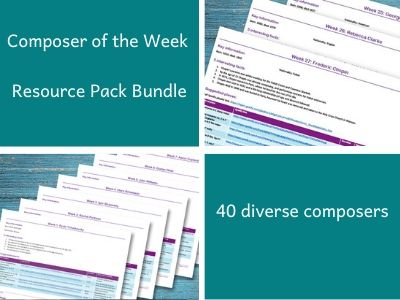 Composer of the Week Pack Bundle