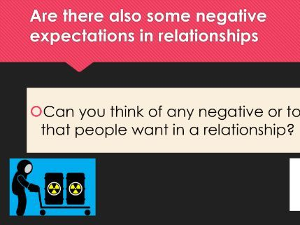 Expectations within relationships