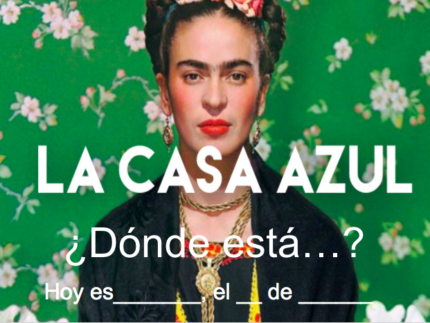 La Casa azul de Frida- SER vs. ESTAR (distance learning)