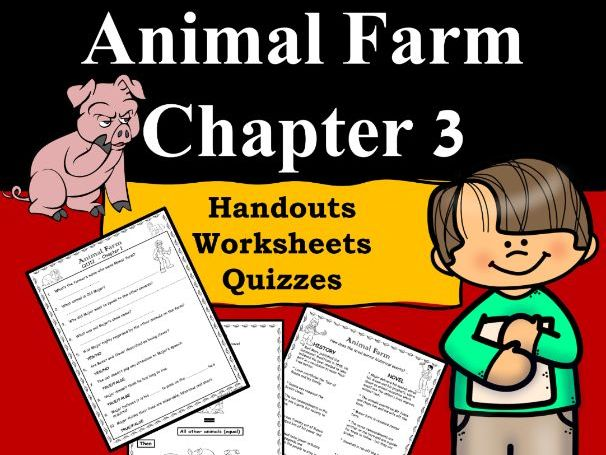 Animal Farm Ch3 PDF/Google Slides