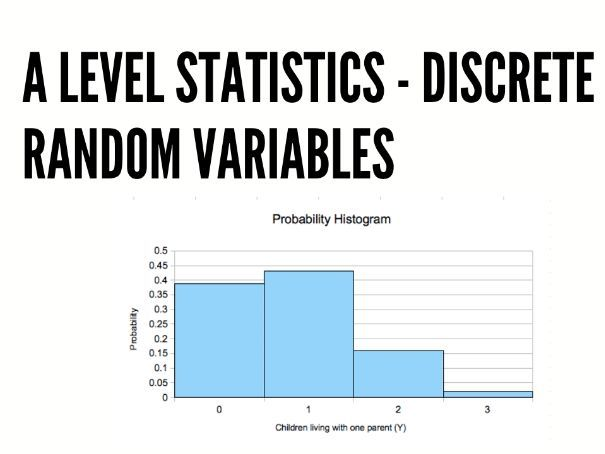 Discrete Random Variable - A level Statistics