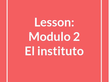 Mira 3, Module 2, Units 1-5