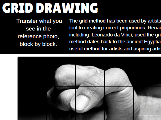 Grid Drawing Big Bundle