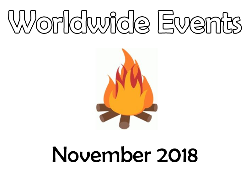 Tutor Time - Worldwide Events – November 2018