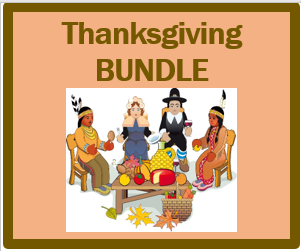 Thanksgiving in English Bundle