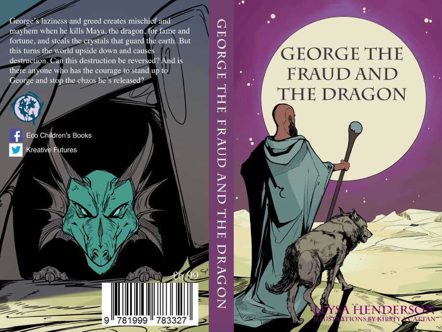 Eco-fantasy book George the Fraud and the Dragon (Sample of the book and teaching ideas)