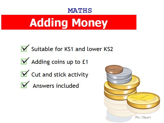 Adding money up to £1