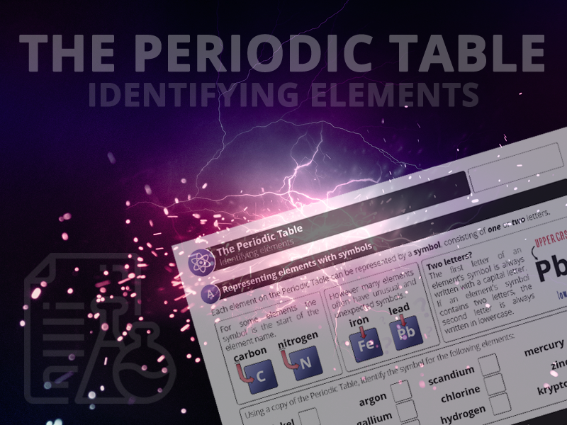 The Periodic Table - Identifying Elements