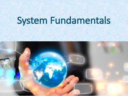 IB Computer Science -  System Fundamentals