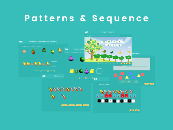 Patterns & Sequences - Year 2, Key stage 1