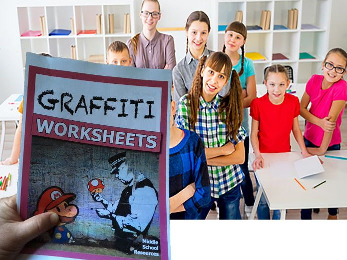 Graffiti Activity Pack **NEW**