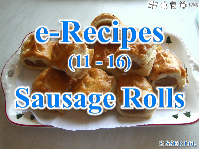 53. Sausage Rolls (e-Recipe)