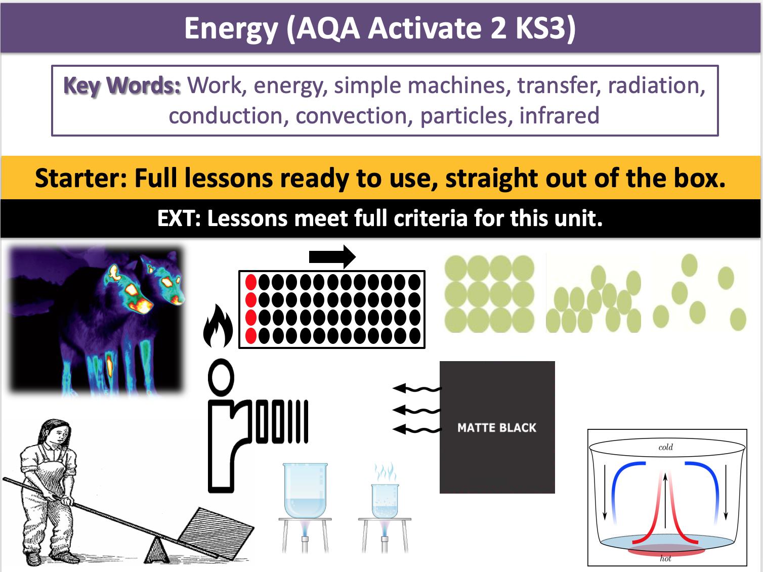Energy (AQA Activate 2 KS3)