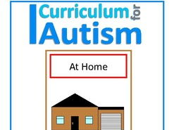Finish The Sentences Interactive Book- 'At Home', Autism, Special Education, SEND
