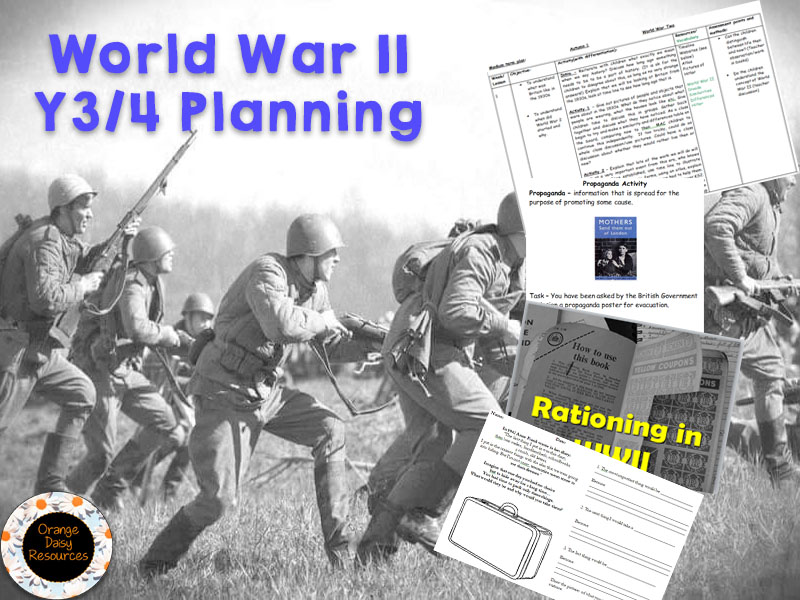 World War 2 Unit for Y3/4