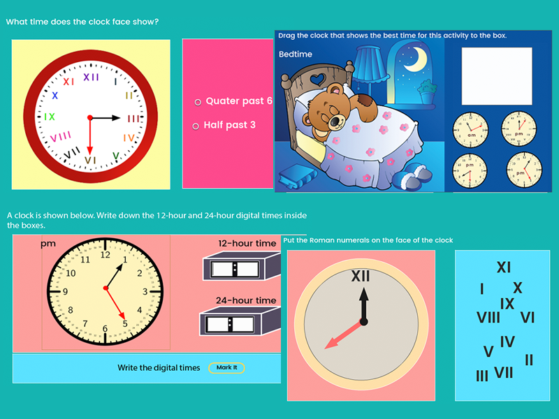 Read, Write and Calculate with Time - Year 3