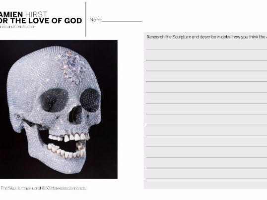 Damien Hirst - For The Love Of God Skull Analysis