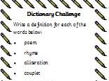 Dictionary Challenge