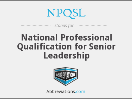NPQSL 2016 Final Assessment linked to the requirements of the qualification framework