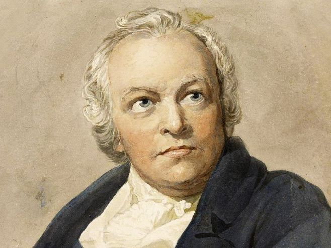 William Blake London annotations