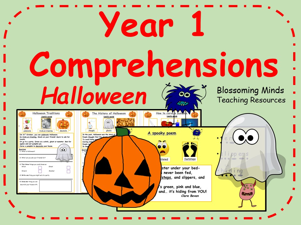 Year 1 comprehensions - Halloween