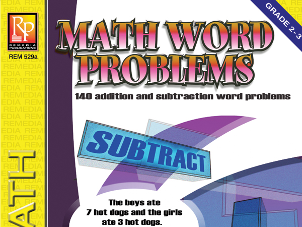 Math Word Problems (Grades 2-3)