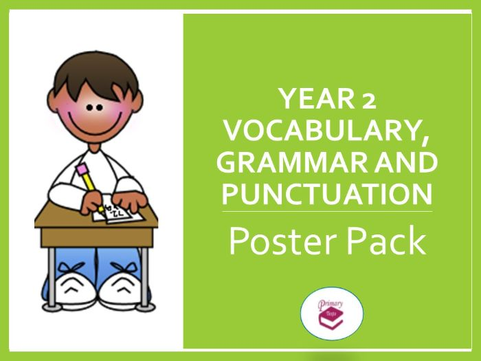 Year 2 SPAG Poster Pack