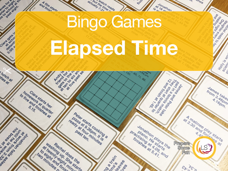 Time Elapsed   Bingo Game