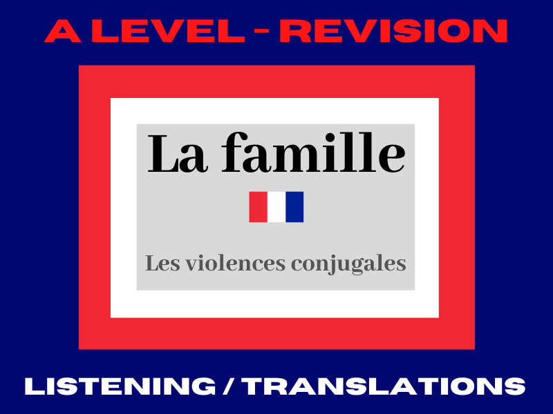 French A level violences conjugales