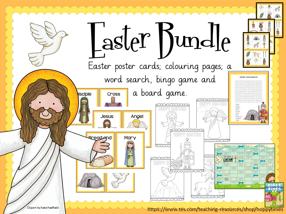 Easter Activities  by Hoppy Times