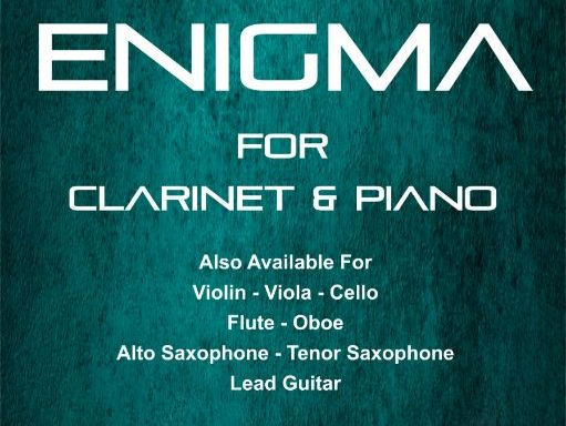 Enigma - Clarinet & Piano (Score & Parts)