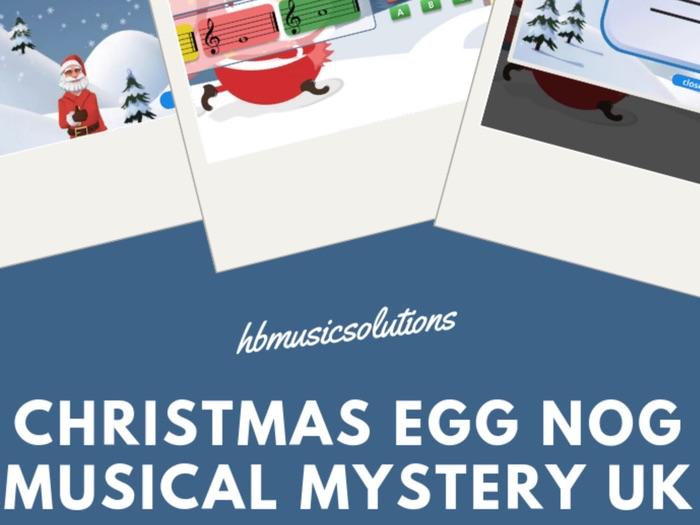 Christmas Egg Nog Music Mystery UK Version