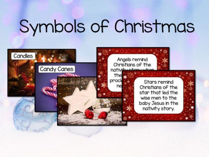 Christmas symbols display - RE