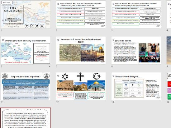 Crusades Why was Jerusalem important?