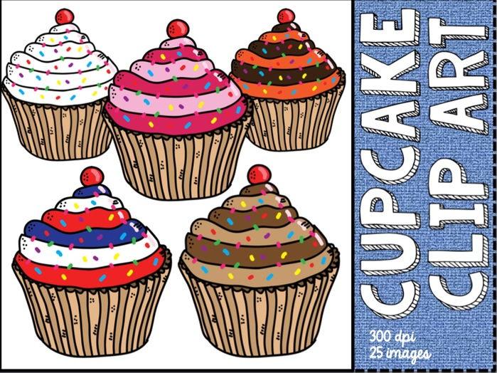 Cup cake / fairy cake clip art