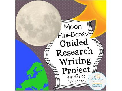 Guided Research Project Moon Mini-book