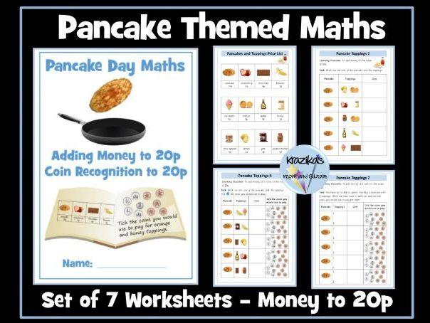 Pancake Day Maths - Money