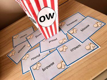 The 'OU/OW' Popcorn Game