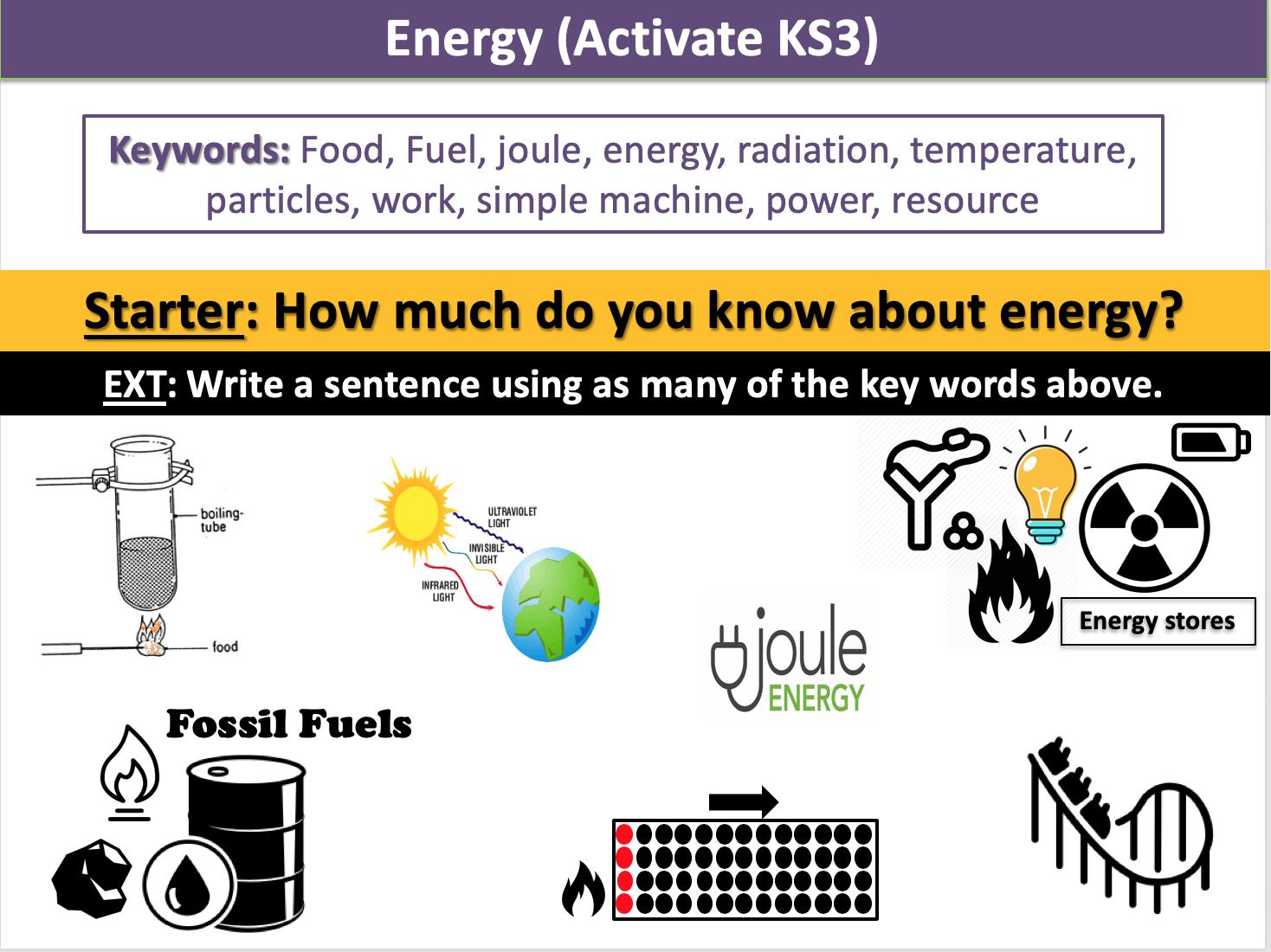 Energy (Activate KS3)