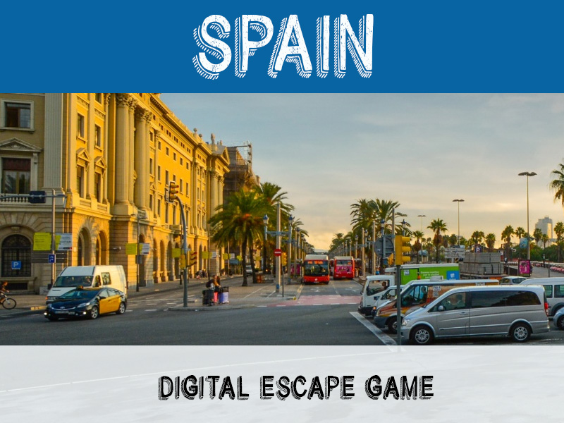 Digital Escape - Spain - in both English AND Spanish versions