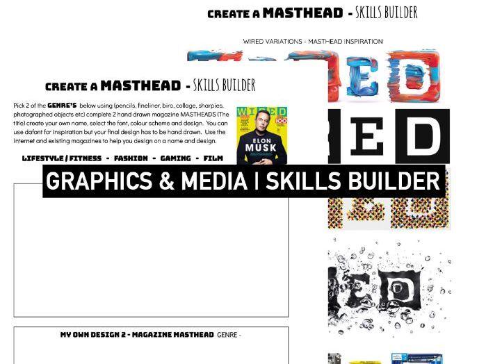 TYPOGRAPHY DESIGN   Masthead Magazines