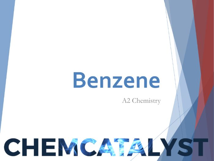 Benzene A2 Chemistry