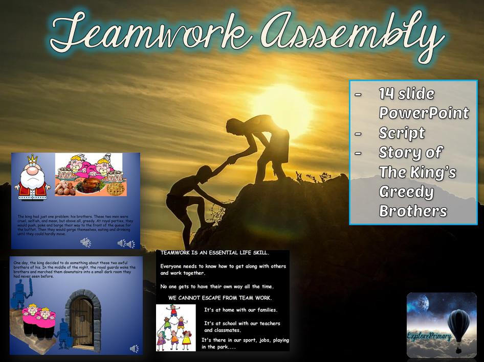 Teamwork Assembly