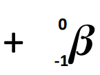 Alpha and beta decay equations