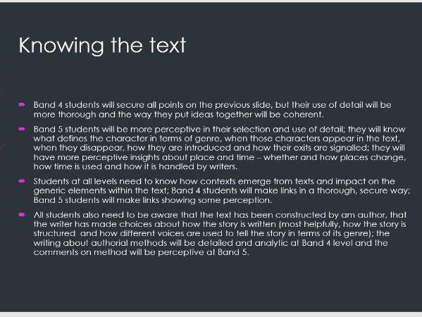 Exclusive AQA English Literature Essay/Exam Help