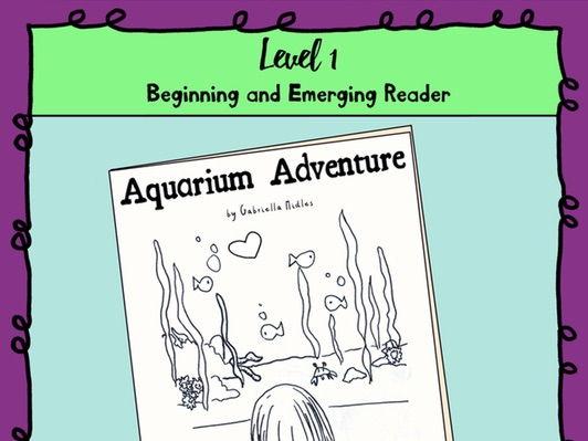 Emerging Reader Book Series: Aquarium Adventure