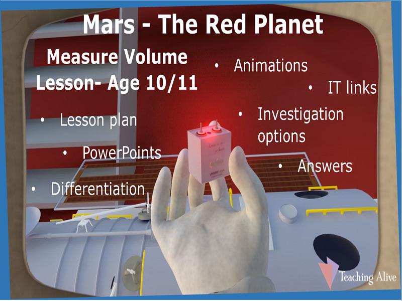 Age 10/11 Measure Volume Lesson