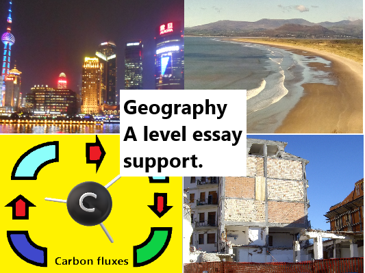 New AQA A level Geography model answers for 20 mark essays.
