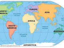 CONTINENTS - NORTH AMERICA